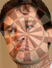Nick Clegg dartboard